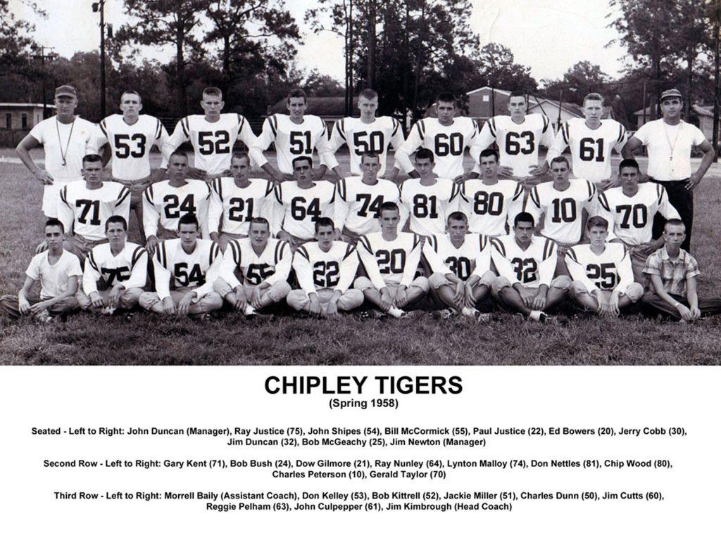 Chipley Tigers 1958